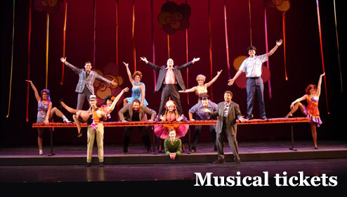 Buy cheap musical tickets
